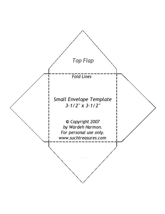 small envelope template note the printed size does not match – Small Book Template