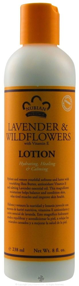 Nubian Heritage Lavender and Wildflowers Lotion (Natural)