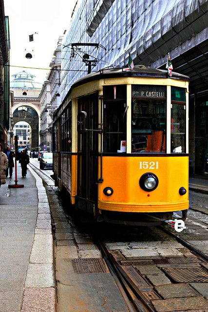 This was my tram (#1) for two weeks in Milan, right past Teatro Alla Scala and the Duomo every day!: