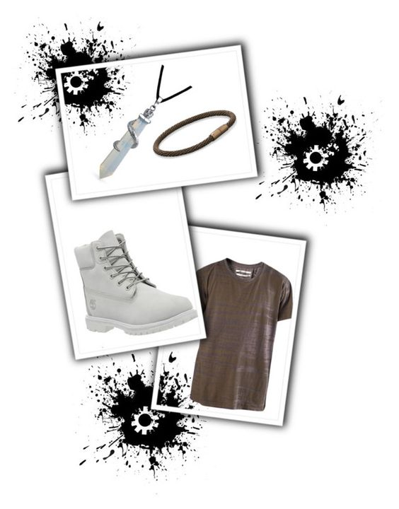 """""""Untitled #14"""" by wima-i ❤ liked on Polyvore featuring Robert Geller, BillyTheTree, Timberland and Bling Jewelry"""