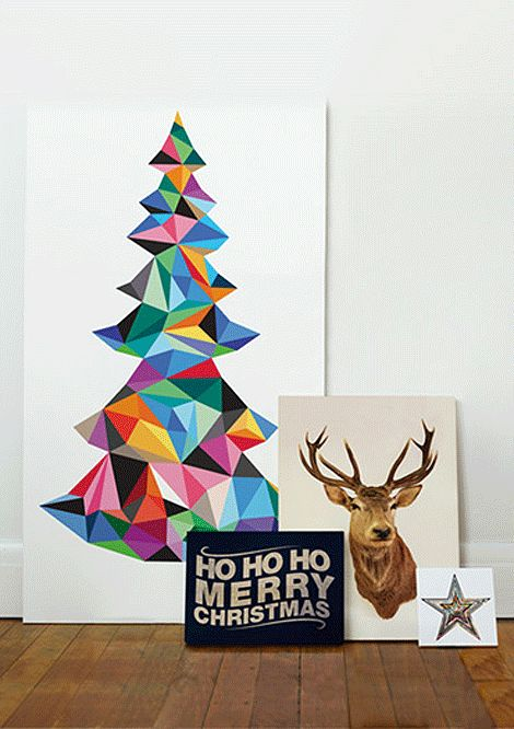The folks from I Need Nice Things has a few cool ideas if you wish to take the non-traditional decorating route this year.