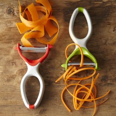 Ghidini Dual Blade Peelers #williamssonoma - would love to have a mandoline, but this may have to do for now.