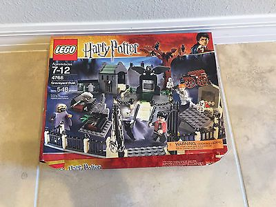 Lego Harry Potter Graveyard Duel (4766) - Unopened box (slight damage) https://t.co/PlqRYdISW7 https://t.co/uOlX6RqQzz
