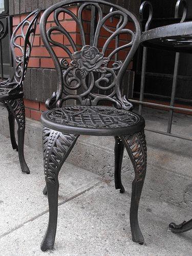 Wrought Iron Finishing Iron Patio Furniture The O Jays