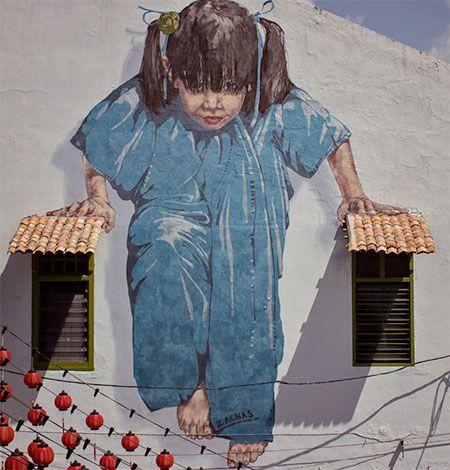 Ernest Zacharevic Murals: