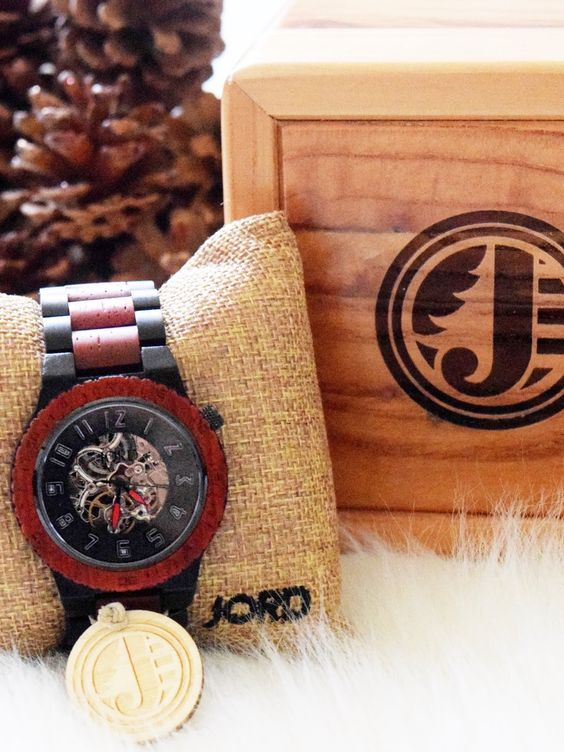 Holiday Gift Idea For Guys | JORD Wooden Watch