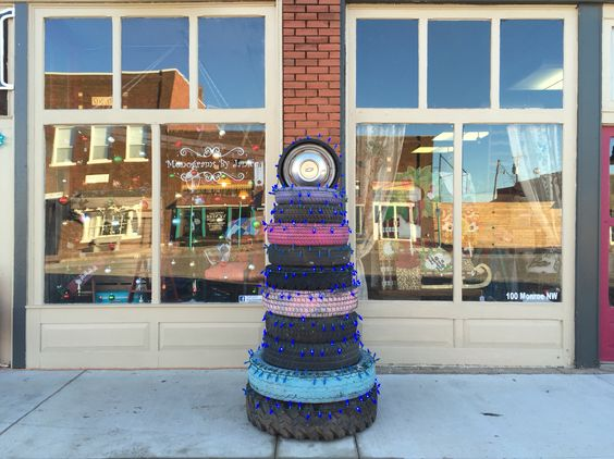The Old Store's Tire Tree!  #the_old_store