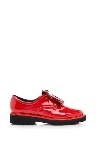 For Suno Patent Leather Brogues by NICHOLAS KIRKWOOD Now Available on Moda Operandi