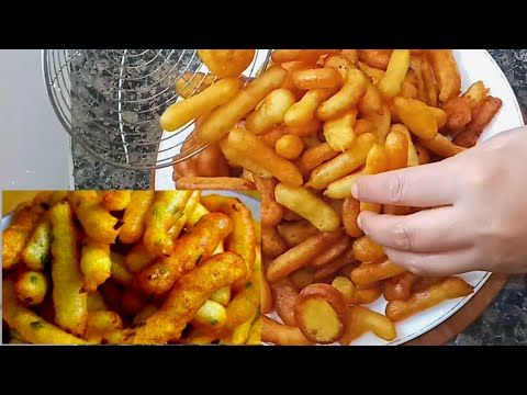 ألذ وأبسط بطاطس مقلية بشكل جديد في رمشة من العين حضري كمية وفيرة وبطريقة عمرها تخطر لك عالبال Youtube Food Vegetables Carrots