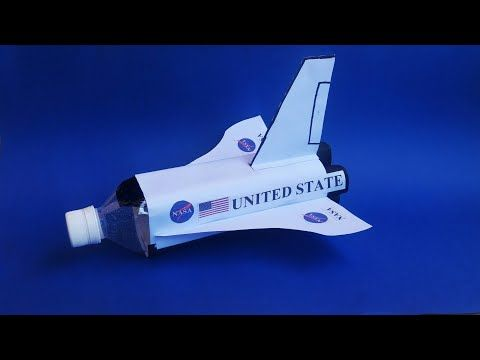 How To Make Space Shuttle From Plastic Bottle Pesawat Luar Angkasa Dari Botol Bekas Youtube Pesawat Luar Angkasa Botol Pesawat