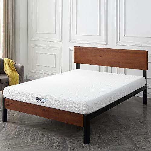 Cool Gel Memory Foam 6 Inch Mattress Furniture Topper Bed Top