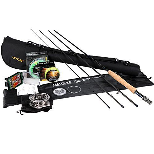Goture Fly Fishing Combo Fly Rod And Reel Complete Starte Https Www Amazon Com Dp B07c3vhnkh Ref Cm Sw R Pi D Fly Fishing Kit Fly Fishing Rods Fly Fishing