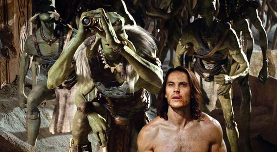 The Wild, Wild West of a Certain Red Planet  'John Carter,' With Taylor Kitsch and Lynn Collins