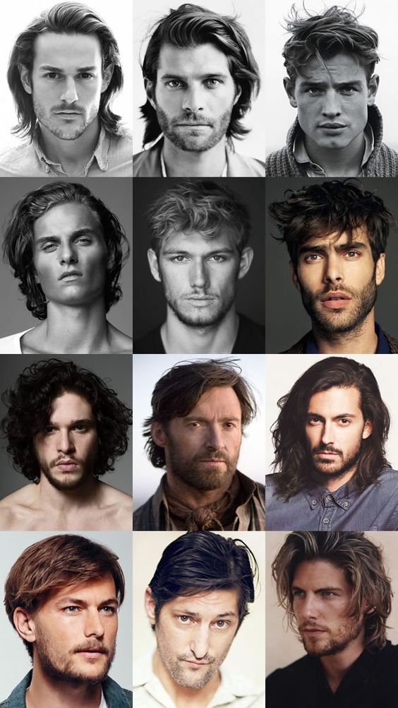 Men's Dishevelled and Rugged Long Hairstyles Lookbook