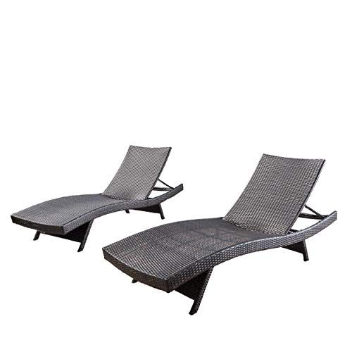 299 Christopher Knight Home 294919 Lakeport Outdoor Adjustabl Https Www Amazon Com Dp B00r59 Lounge Chair Outdoor Wicker Chaise Lounge Pool Lounge Chairs
