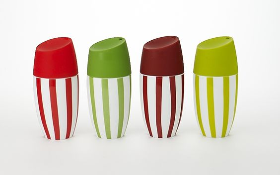 Stripe beverage tumblers...now these are cute!