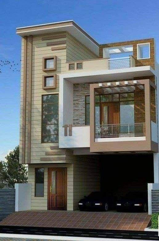 Modern Beautiful Houses House Front Design Duplex House