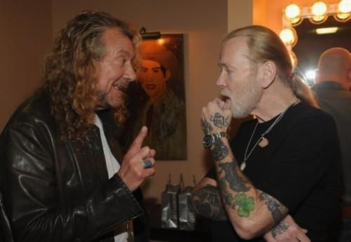 Robert Plant and gregg Allman 2011