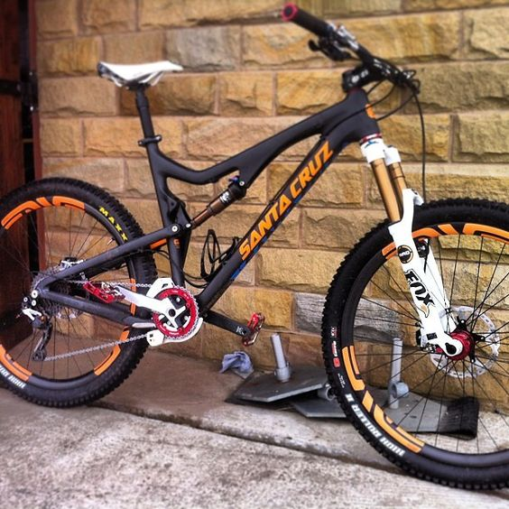 Steve Peat's Santa Cruz Bronson - sspomer - Mountain Biking Pictures - Vital MTB.  THE Legendary!!