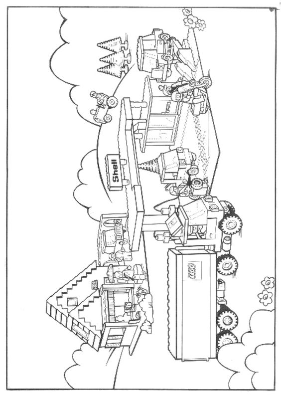 css3 lego coloring pages - photo#1