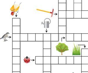 Mots fl ch s le jardin animation jeux de mots nombres for Se portent pour saluer mots fleches
