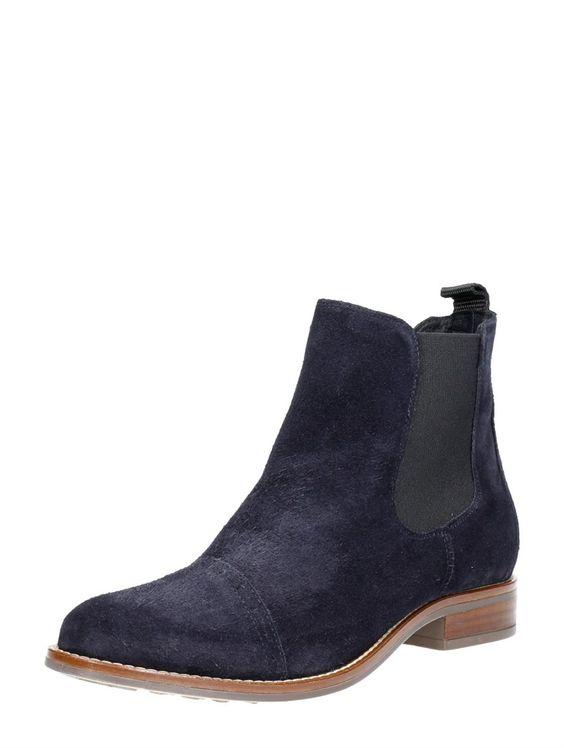 Choizz Exclusive dames blauwe Chelsea boots