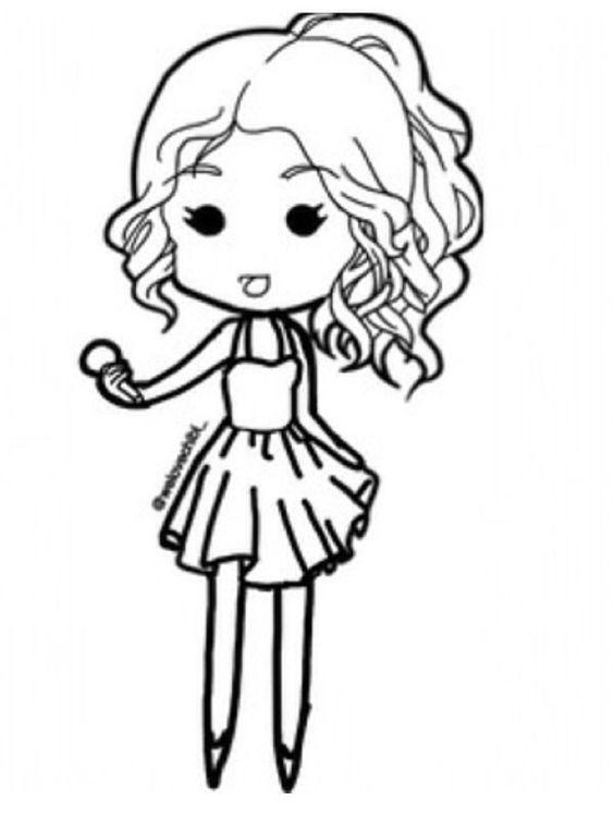 Image Gallery hipster chibi girl drawing
