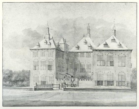 Roelant Roghman, Kasteel Duivenvoorde in Voorschoten, 1646/47