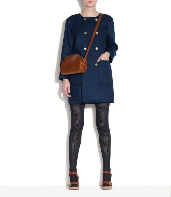 sac demi lune noisette tu a p c femme wish pinterest manteaux sombre et bleu marine. Black Bedroom Furniture Sets. Home Design Ideas