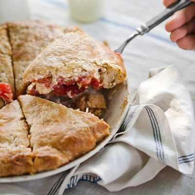Summer Tomato Pie Recipe - Country Living Magazine-- made it and it was seriously the best savory pie ever!  even if i don't like tomatoes!: