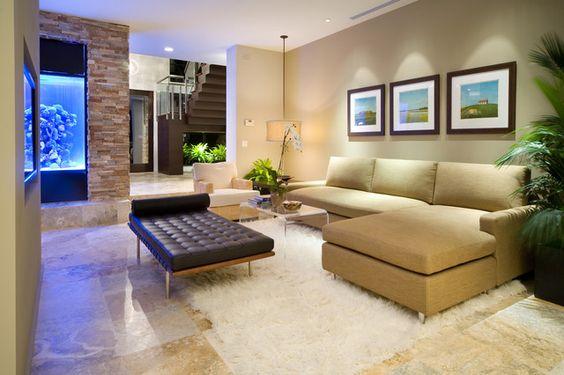 NeMo (New Modern) - modern - living room - orlando - Phil Kean Designs