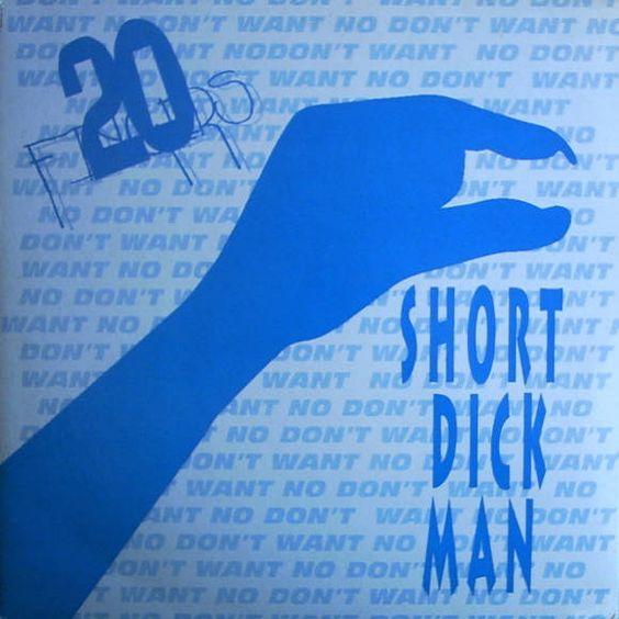 20 Fingers, Gillette – Short Dick Man (single cover art)
