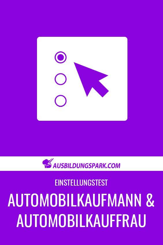 Pin Auf Ausbildung Automobilkaufmann Automobilkauffrau