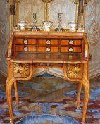 Roll-top secretary desk, mark of Jean-François Oeben, c. 1760