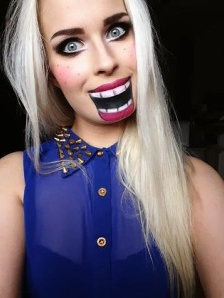 Nutcracker - 18 Cheap and Creative Halloween Makeup Ideas to Scare Your Friends