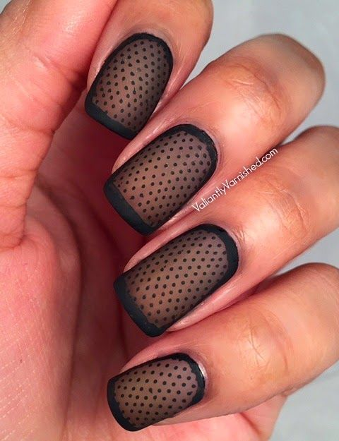 Happy hump day peeps! Today's nail art is a technique that I have been wanting to try for awhile. I have seen various versions of it on Instagram and Pinterest. It looks simple and easy - and it is -