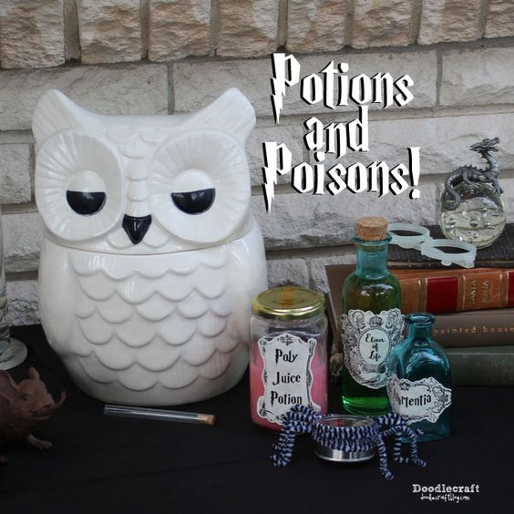 Potions and Poisons!