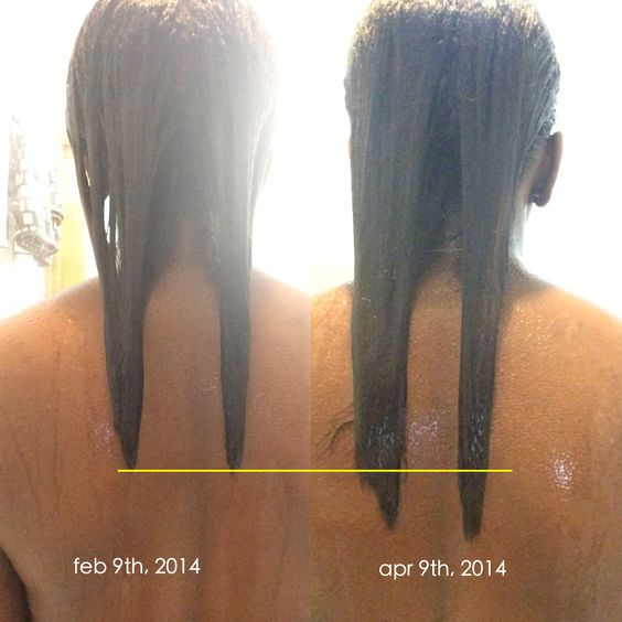 Growth progress   feb 9th - apr 9th (2 months) only taking Vitafusion HairSkin&Nails Chewables (yum!)