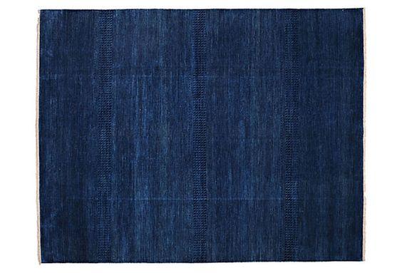 "8'x10'2"" Baldwin Rug, Deep Blue on OneKingsLane.com"
