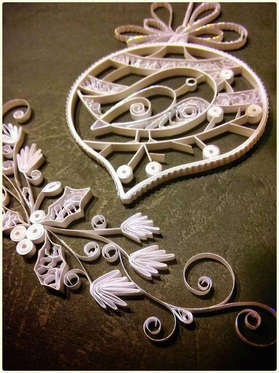 Ornament - Quilled by: Maria Cvetanova