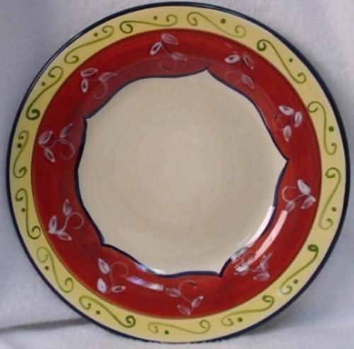 PIER 1 china VALLARTA pattern DINNER PLATE