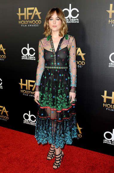 Dakota Johnson Hollywood Film Awarrds