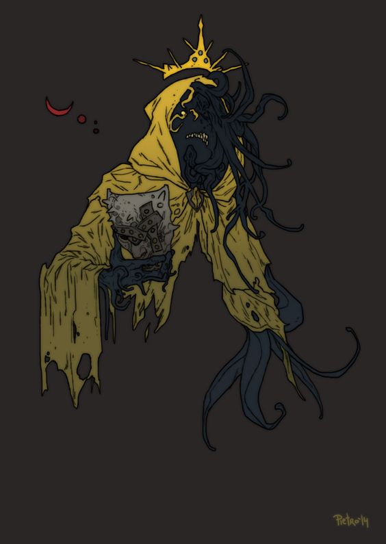 Nyarlathotep's Got Sass - yogsothothery:   The King in Yellow by pietro-ant
