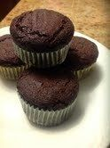 Almond flour chocolate cupcake recipe. Gonna try this tomorrow :)
