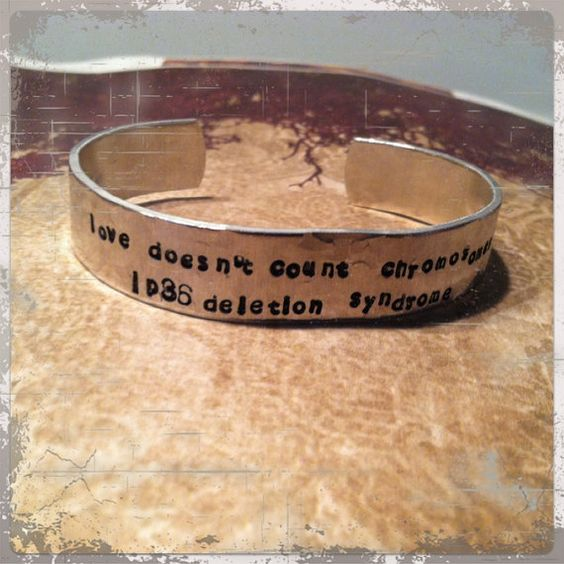 Special needs bracelet!     Fundraiser bracelet for July 2012   1p36 Support and Awareness by TheCopperCreek on Etsy, $20.00