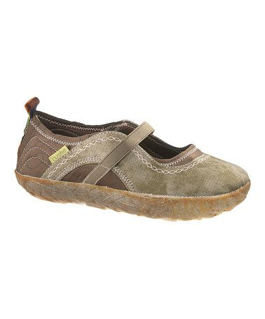 Take a look at this Green Shucoon Flat - Women by Cushe on #zulily today!