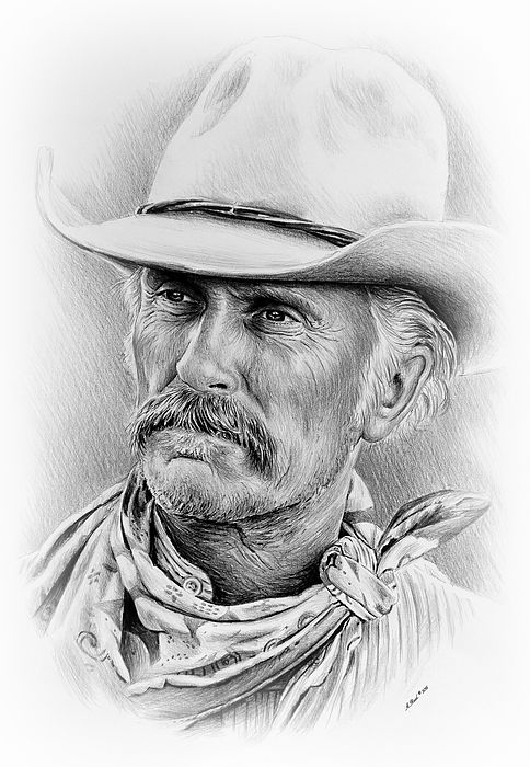 Robert Duvall Ver Two Signed Print by Andrew Read