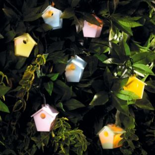 Buy Solar Set of 20 Bird House String Lights at Argos.co.uk - Your Online Shop for Solar ...