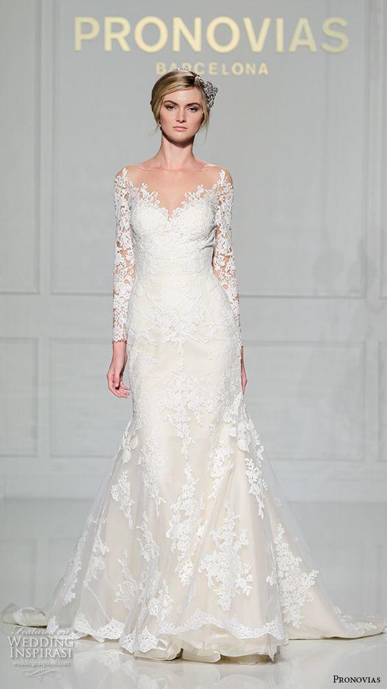 Pronovias 2016 Wedding Dresses New York Bridal Runway