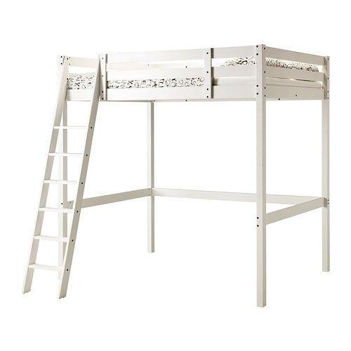 Stora Loft Bed Frame White Stain Ikea Loft Bed Frame Ikea